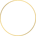 Canva - Gold Circle Border